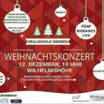 The Baff spielt beim Weihnachtskonzert der Realschule Menden