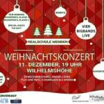 Weihnachtskonzert Realschule Menden @ Wilhelmshöhe Menden | Menden (Sauerland) | Nordrhein-Westfalen | Deutschland