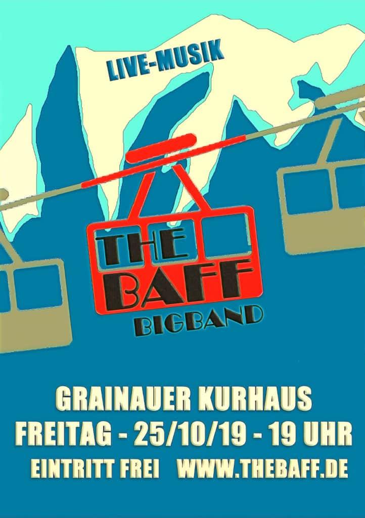The Baff spielt im Zugspitzdorf Grainau @ Kurhaus Grainau