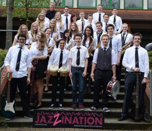 JazZination ist die Bigband der Gesamtschule Iserlohn und hat schon mehrere Preise abgeräumt.