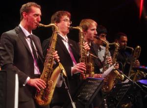 DIe Bigband der Glen Buschmann Jazzakademie aus Dortmund ist international renommiert.